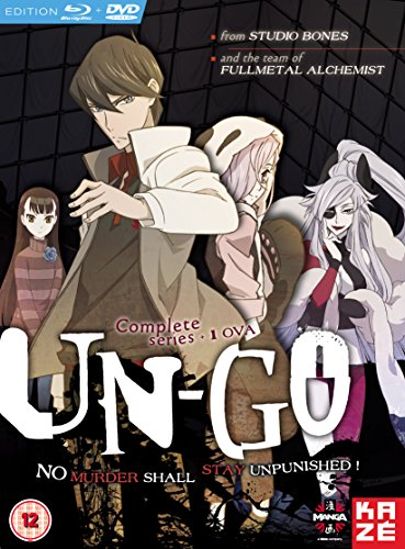 Un-Go: Complete Box Set Blu-ray / DVD Combo Pack