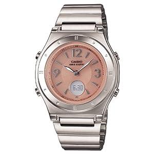 [カシオ]CASIO 腕時計 ウェーブセプター 電波ソーラー LWA-M141D-4AJF レディース