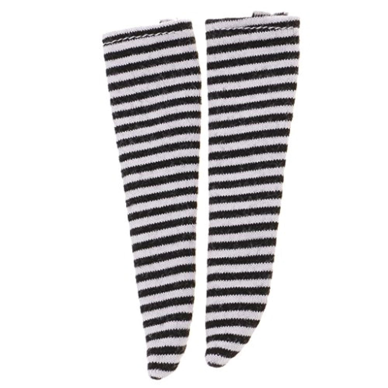 ノーブランド品  1/6スケール 靴下  ストッキング  BJDブライスドール用 衣類 アクセサリー 14色選べる - 11
