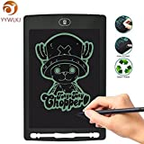 8.5 inch LCD Writing Tablet Graphic Drawing Board Ultra-Thin New Electronic Graffiti Notepad Environmental and Eye Protection for Kids Portable (Black)