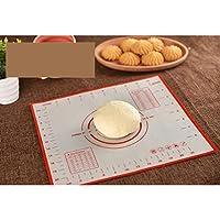 シリコンベーキングマットピザ生地メーカーペストリーキッチン小道具調理道具耐熱皿混練アクセサリー