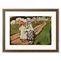 ワシリー・カンディンスキー Wassily Kandinsky (Vassily Kandinsky) 「Russian Scene」 額装アート作品