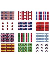 (T.A.W) オーストラリア 国旗 タトゥーシール ボディーシール 刺青シール