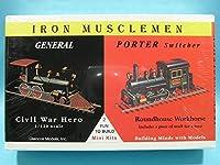 1/120 アメリカ ビンテージ蒸気機関車セット ジェネラル号&ポーター蒸気機関車 プラモデル