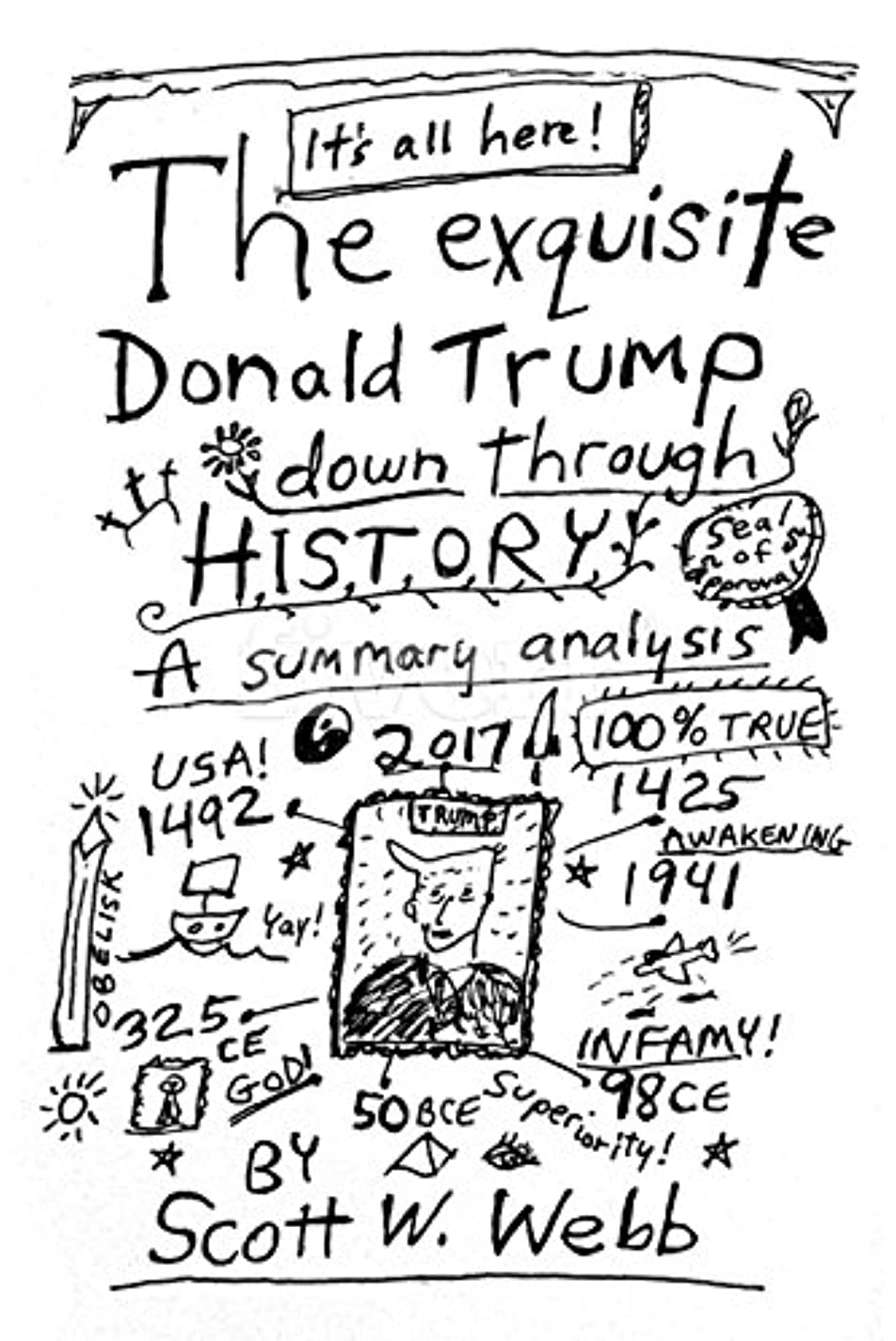 The Exquisite Donald Trump Down Through History (English Edition)