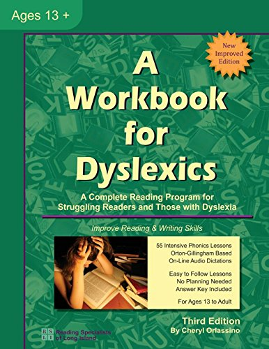 Download A Workbook for Dyslexics 0983199663