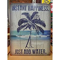 アメリカンブリキ看板 サーフィン -即時の幸福-