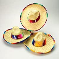 US Toy Child's Mexican Sombrero Costume [並行輸入品]