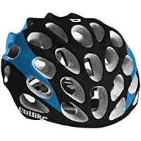 Catlike Mixino Road Cycling Helmet, SM, Black/Blue Matte by Catlike