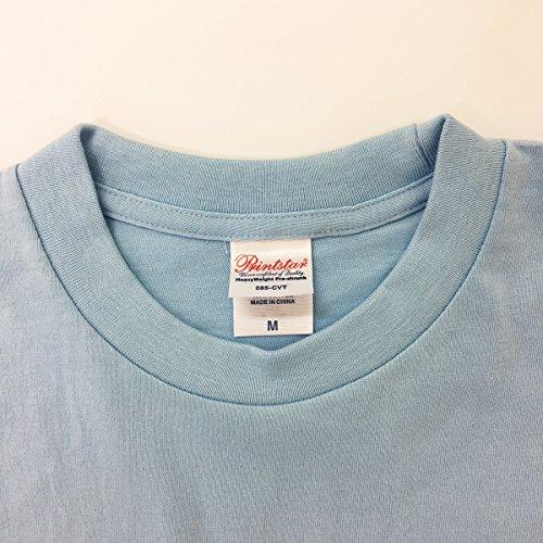 Tシャツ子煩悩パパライトブルー☆おもしろ父の日プレゼントに最適ラッピング無料5.6ozヘビーウェイト☆Lサイズ