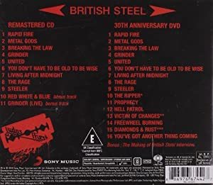 British Steel: 30th Anniversary Edition (CD/DVD)