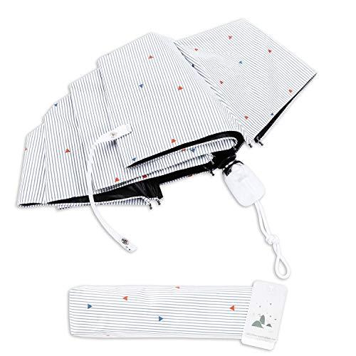 日傘 GELOO 折りたたみ ワンタッチ 自動開閉 傘 レディース傘 晴雨兼用 軽量 uvカット 紫外線遮蔽率99% 8本骨 収納ポーチ付き 強風に耐えられ 防撥水