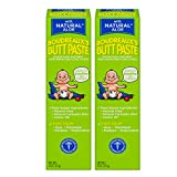 Boudreaux's Butt Paste Diaper Rash Ointment | With Natural Aloe | 4 Oz | Pack of 2
