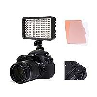 Selens LED168 カメラ/ビデオ撮影 LEDライト168球のLEDを搭載 色温度調整機能付き