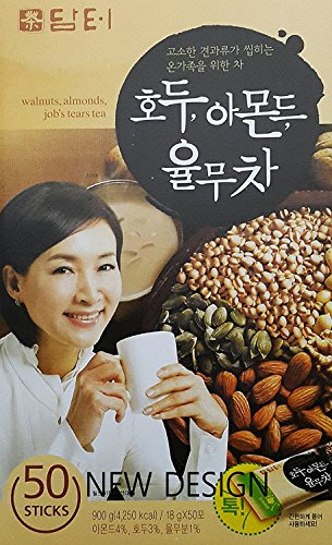 ダムト クルミ アーモンド ハトムギ茶(50包)<韓国伝統茶 韓国健康茶>