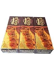 マスターゴールド香スティック 3BOX(18箱) /ADARSH AROMATICS  MASTER GOLD/インセンス/インド香 お香 [並行輸入品]