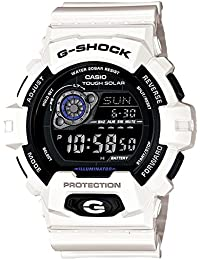 GR-8900A-7 日本未発売モデル カシオ CASIOGショック ジーショック G-SHOCK 白色高輝度LEDバックライト搭載光で充電するタフソーラー搭載白 反転液晶モデル メンズ 腕時計 時計 【逆輸入品】