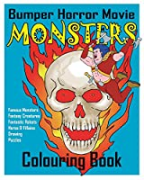 Bumper Horror Movie Monsters Colouring Book