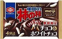 亀田製菓 亀田の柿の種チョコ&ホワイトチョコ 77g×6袋