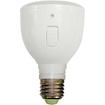ラブロス Magic Bulb バッテリー内蔵 LED電球 (外せば懐中電灯に早変わり! ・E26口金・一般電球形・白熱電球40W相当・240ルーメン・電球色相当) MB4W-A