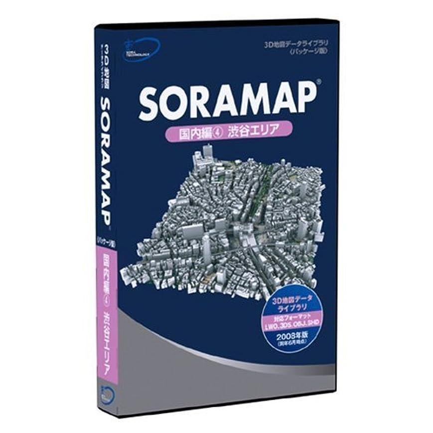 促す芸術的自宅で3D地図(3D都市)データライブラリ[パッケージ版] SORAMAP 国内編(4) 渋谷エリア