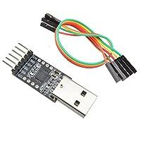Micro SATA Cables USB 2.0 - TTL UART 6ピン モジュール シリアルコンバーター CP2102
