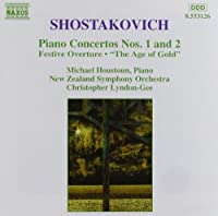 Piano Concertos Nos. 1 and 2 / Festive Overture / The Age of Gold Ballet Suite by Michael Houstoun (1995-10-24)