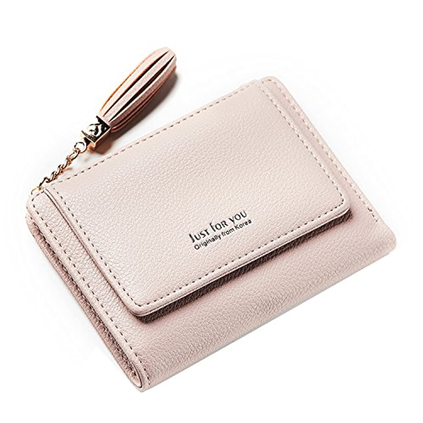 小さなロードされたブリッジTcIFE ミニ財布 レディース 二つ折り 人気 小さい二つ折り財布 がま口小銭入れ 女性用 友達 家族にプレゼント