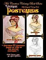 New Creations Coloring Book Series: Vintage Postcards: Ladies