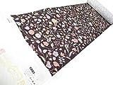 小紋 正絹 京友禅 たたき染の花模様 染の北川謹製 ko181