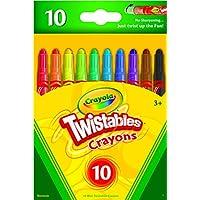 Crayola 52 – 9715 10 CT Twistableクレヨン 1 52-9715