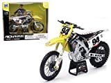 [スズキ]Suzuki RMZ 450Ken Roczen Motorcycle Model 1/12 by New Ray 57747 [並行輸入品]