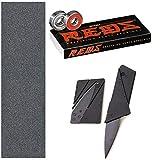 Bones Reds Bearings (8 Pack (w Mob Grip and Cutter Tool)) [並行輸入品]