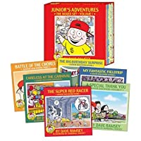 Junior's Adventures Boxed Set By Dave Ramsey Hardback (Life Lessons with Junior)