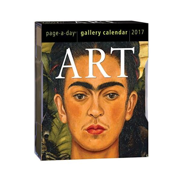 Art Gallery 2017 Calendarの商品画像