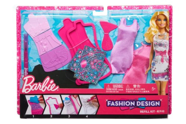 バービーファッションデザイン プレート Barbie Fashion Design Plates