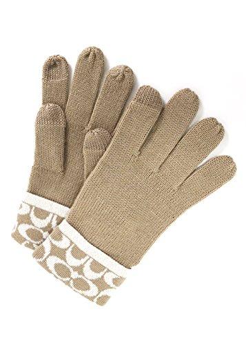 コーチ 手袋 レディース COACH GLOVE フリーサイズ...