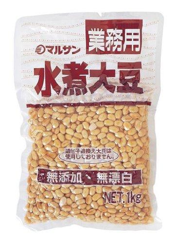マルサンアイ 業務用 カナダ産 水煮大豆 1Kg