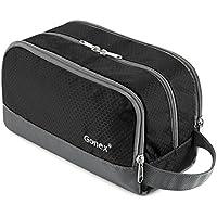 Travel Toiletry Bag Nylon, Gonex Dopp Kit Shaving Bag Toiletry Organizer