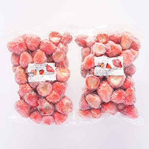 いのさん育ちの冷凍イチゴ〔500g×2〕