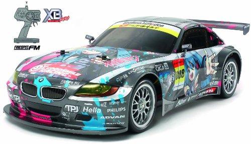 タミヤ 1/10 XBシリーズ No.95 XB 初音ミク Studie GLAD BMW Z4 (TT-01) プロポ付き完成品 57795