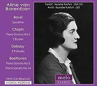 ベートーヴェン:ピアノ・ソナタ第14番『月光』、第8番『悲愴』、ショパン:ピアノ・ソナタ第3番、ドビュッシー、ラヴェル バレンツェン(1954~