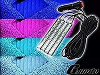 Z3-2WT G-moto製 LEDスポコンKit 4本Set 12V シガーソケット 電源タイプ スズキ車汎用 (白色)