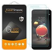 [2パック] Supershieldz LG (Aristo 2)用 強化ガラススクリーンプロテクター 傷防止 バブルフリー 永久交換 [LG Aristoには適合しません]