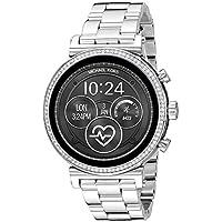 Michael Kors Gen 4 Sofie Smartwatch Smart Display and Stainless Steel Strap, MKT5061