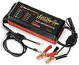 JTC バッテリー再生充電器 サルフェーション 除去機能  6V  12V 鉛 バイク バッテリー 全対応  RPC-12