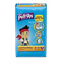 Huggies Pull-Ups Training Pants - Learning Designs - Boys - 4T-5T - 18 ct [並行輸入品]
