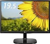 LG 20MP48A-P IPSディスプレイ モニター 19.5インチ/1440×900/非光沢/アナログ1系統