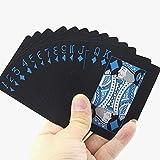 Vitality ALI ブラック トランプ 黒 豪華 カード 大富豪 卓上 遊戯 手品 家族 友人 パーティー テーブル ゲーム インテリア 持ち運び コンパクト カッコイイ 遊び 格好いい ポーカー 大人 カラー マジック 面白い
