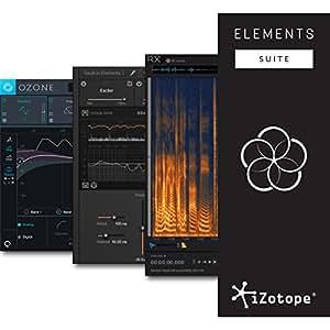 iZotope Elements Suite バンドル ( Neutron Elements + Ozone8 Elements + RX6 Elements) アイゾトープ